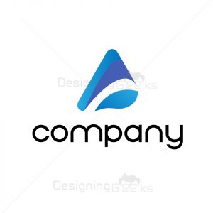 Consultany company with A letter logotype